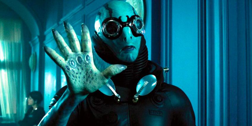 Primo piano di Doug Jones in Hellboy - nerdface