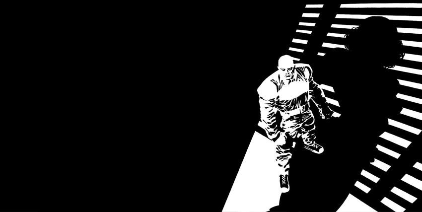 Una tavola da Sin City di Frank Miller - nerdface