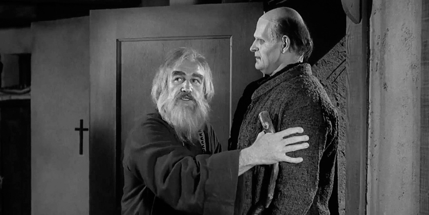 Gene Hackman insieme al Frankenstein di Frankenstein Junior - nerdface
