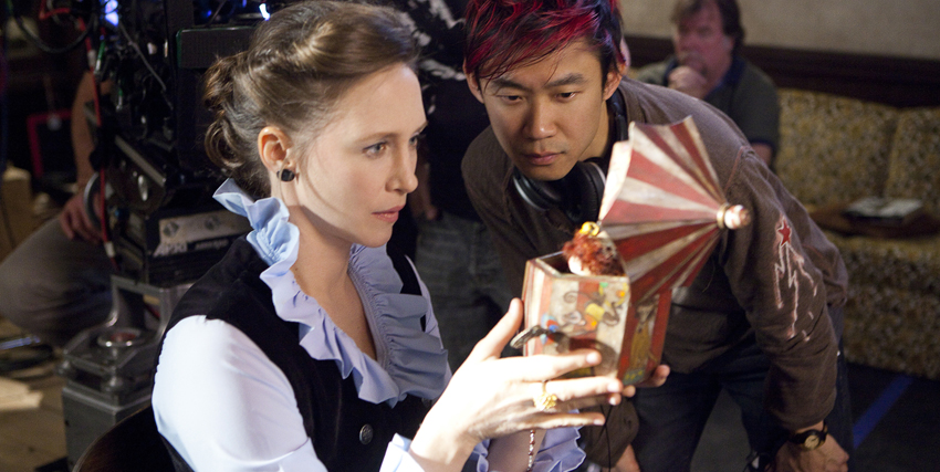 James Wan sul set di The Conjuring - nerdface