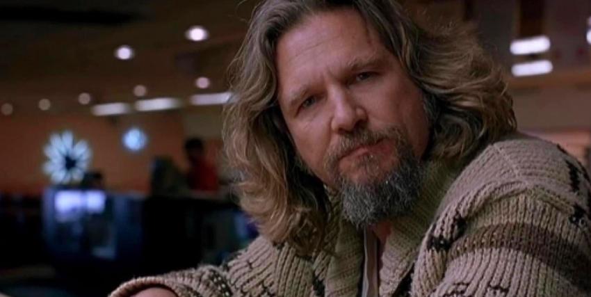 Primo piano di Jeff Bridges in Il Grande Lebowski - nerdface