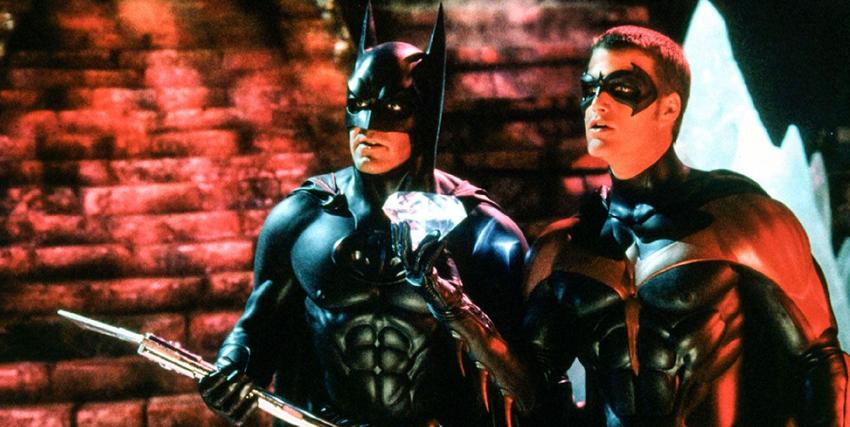 Batman e Robin nella pellicola di Joel Schumacher - nerdface