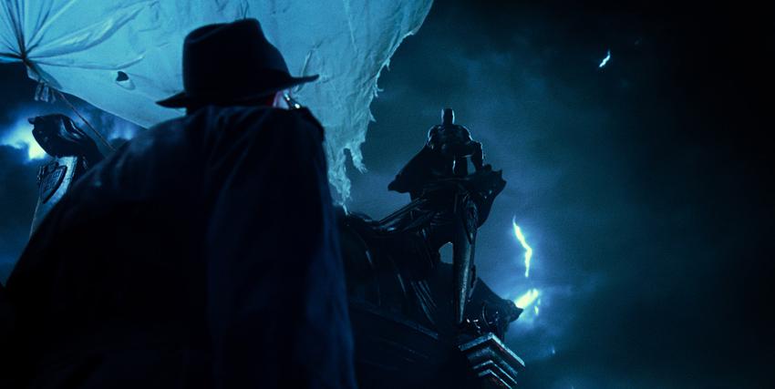 Batman compare nell'oscurità della notte - nerdface