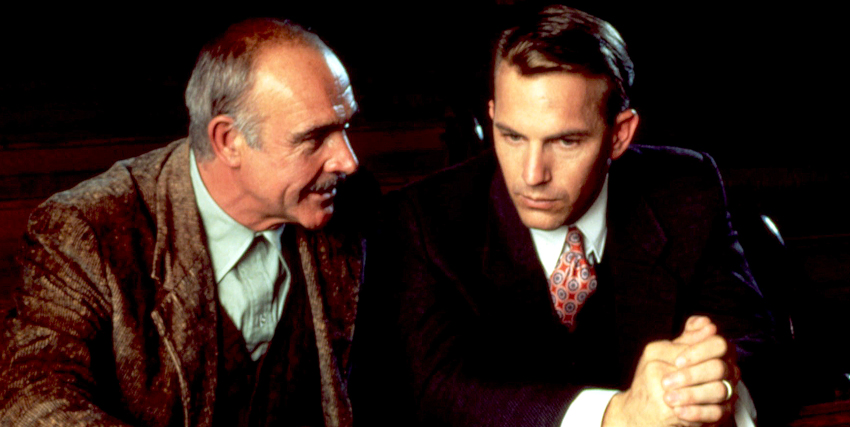 Kevin Costner insieme a Sean Connery - nerdface