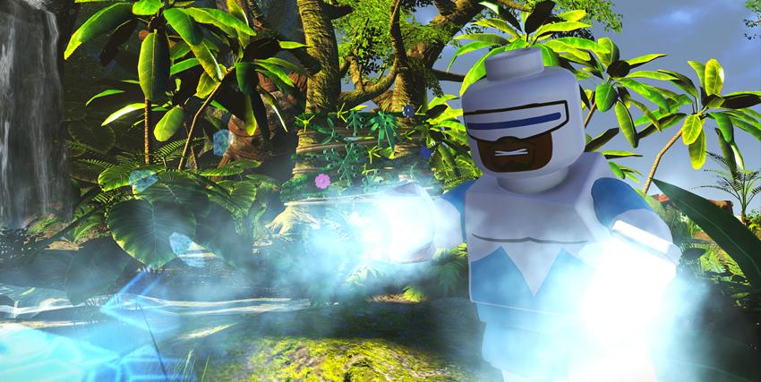 Il supereroe del ghiaccio in azione nel videogioco lego de gli incredibili - nerdface