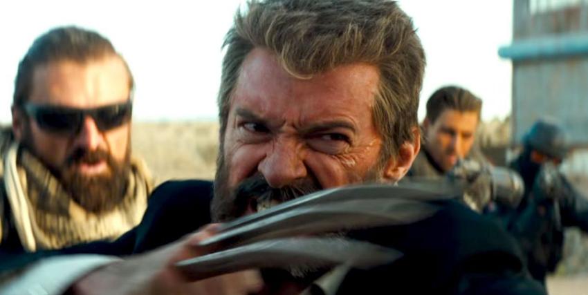 un Wolverine invecchiato si scaglia contro il proprio avversario con i suoi artigli - nerdface