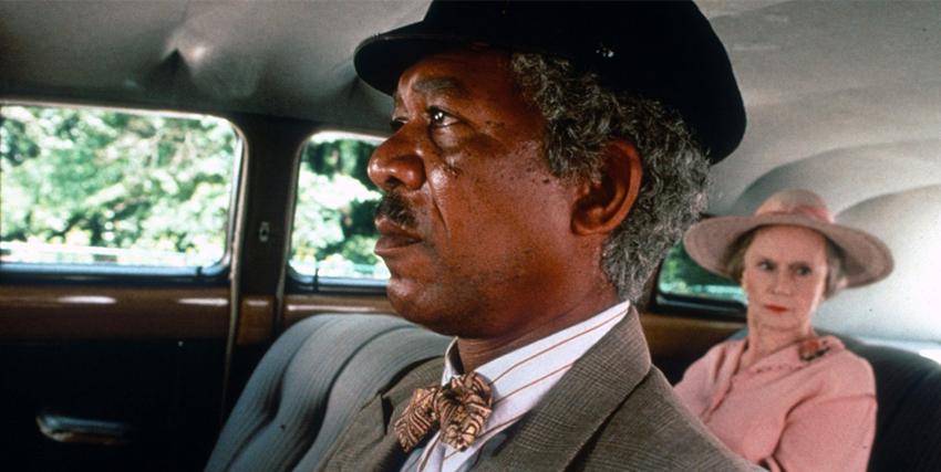 Morgan Freeman alla guida in A Spasso con Daisy - nerdface
