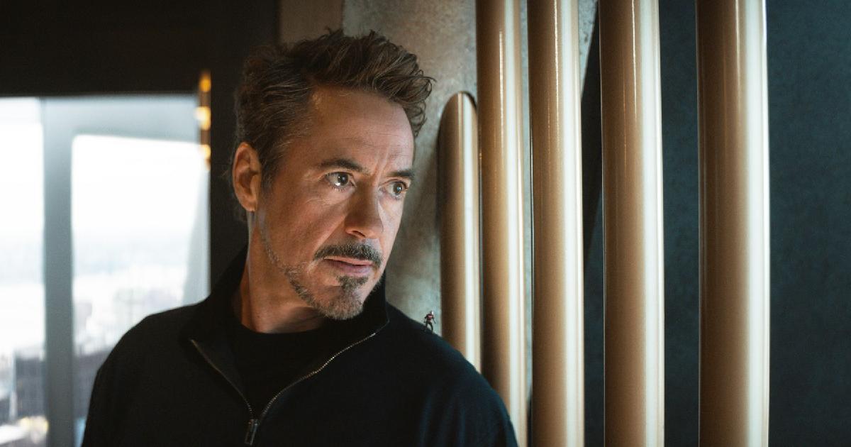 Primo piano di Robert Downey Jr. - nerdface
