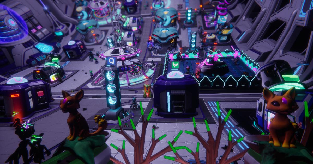 Uno screen dal videogioco Spacebase Startopia - nerdface