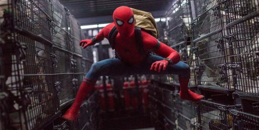Spider-Man in azione - nerdface