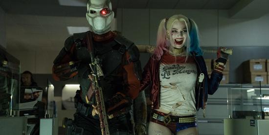 Harley Quinn al fianco di Deadshot in Suicide Squad - nerdface