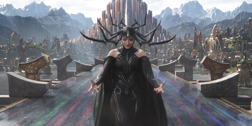 Hela in Thor: Ragnarok - nerdface