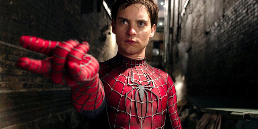 Tobey Maguire veste i panni di Spider-man - nerdface