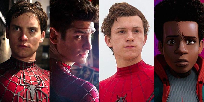 Una carrellata dei vari iterpreti di Spider-Man - nerdface
