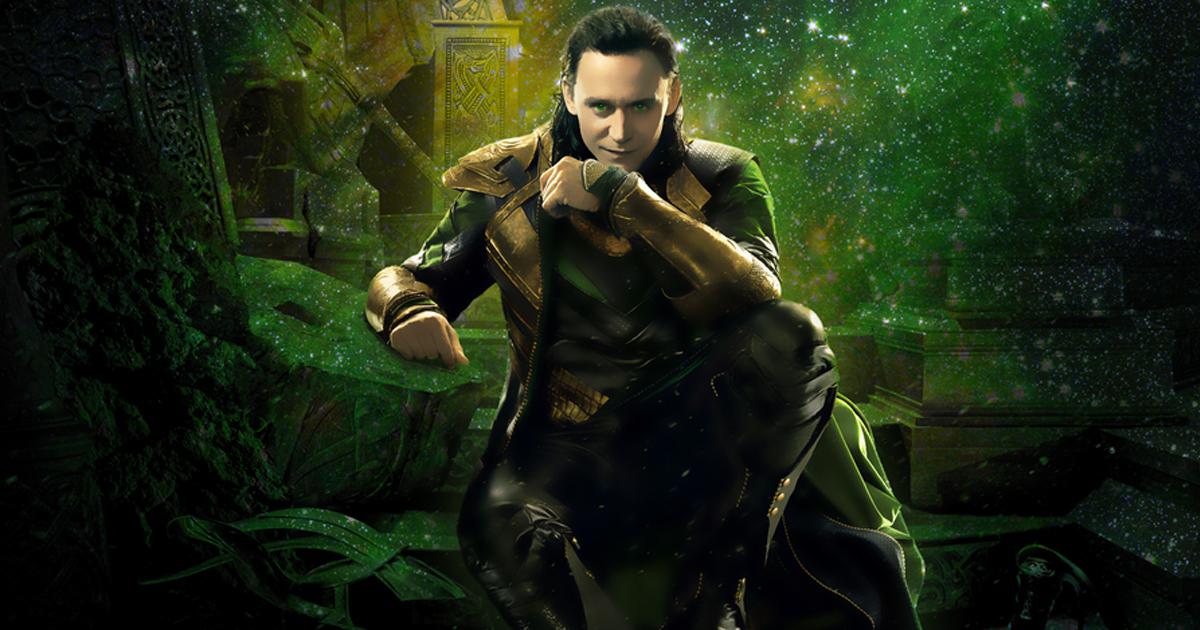 Tom Hiddleston nei panni di Loki - nerdface