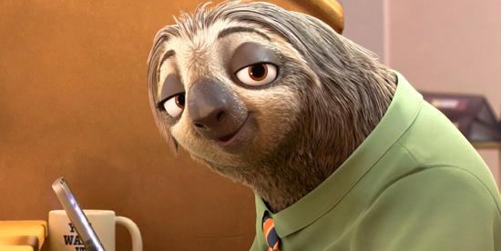 flash, il bradipo lentissimo che lavora alle poste, inizia a sorridere e finirà forse alla fine di questa recensione - nerdface