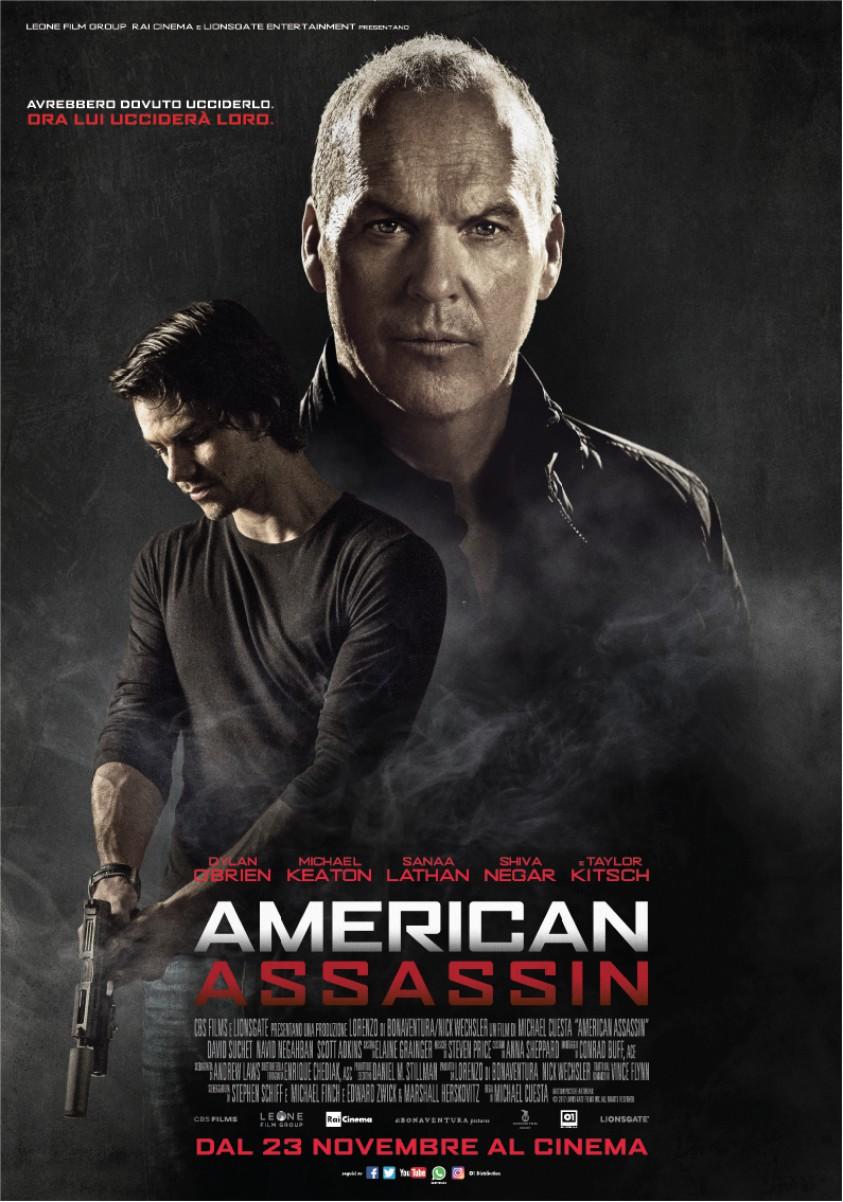 locandina ufficiale di american assassin - nerdface