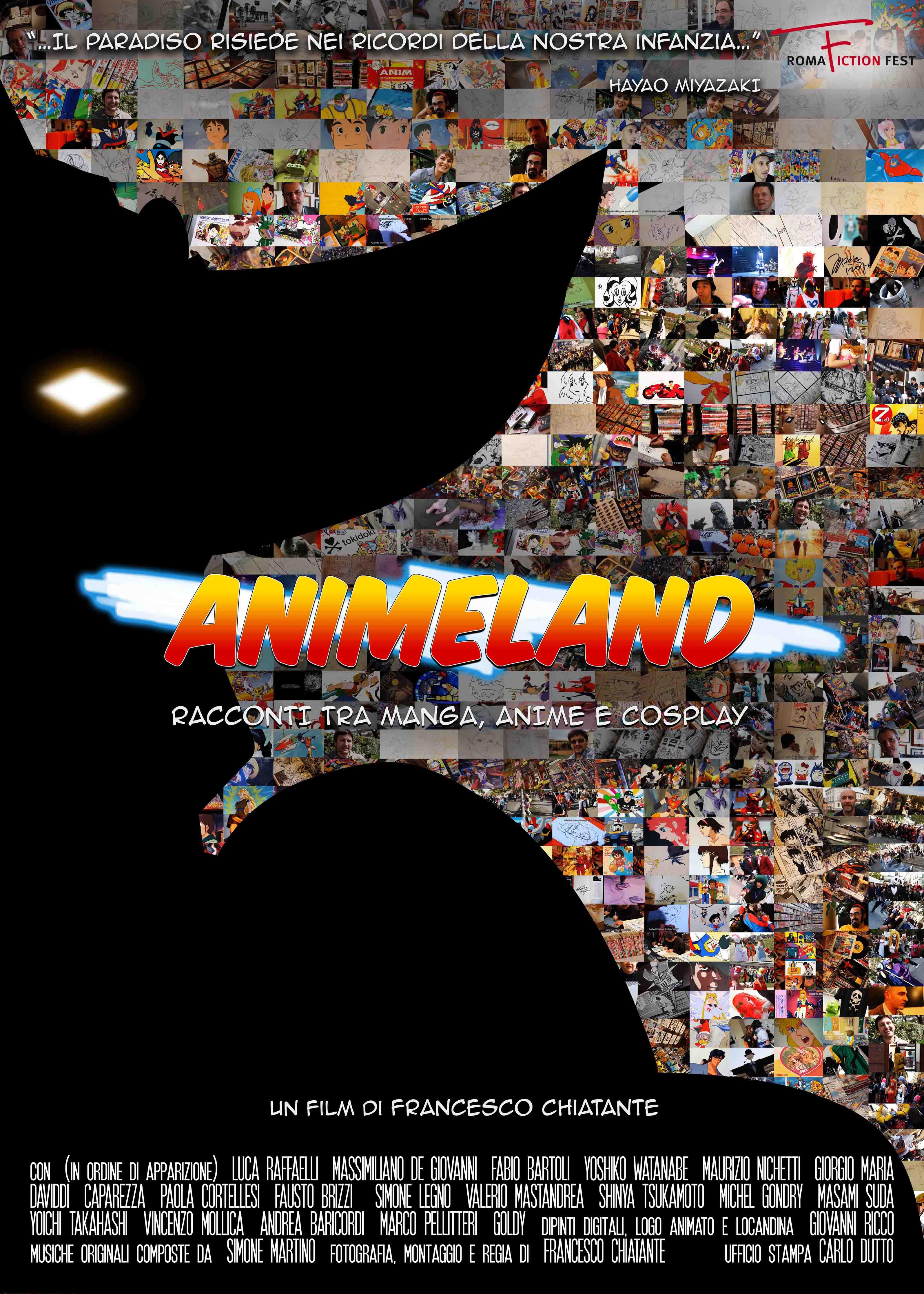 locandina ufficiale di animeland - nerdface