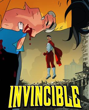 nerdface recensione invincible poster
