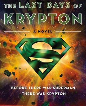 copertina ufficiale del libro Gli Ultimi Giorni di Krypton - nerdface