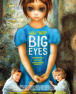 locandina ufficiale di big eyes - nerdface