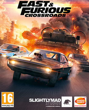 Copertina ufficiale del videogioco Fast & Furious: Crossroads - nerdface