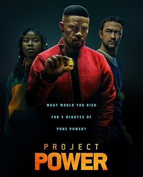 locandina ufficiale del film Project Power - nerdface