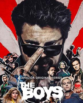 locandina ufficiale di the boys 2 - nerdface