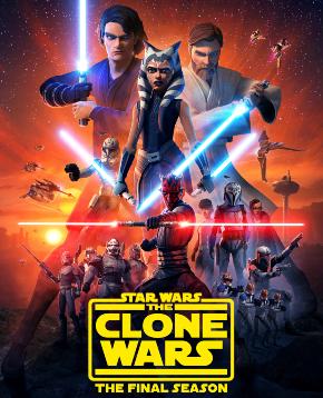 locandina ufficiale di star wars the clone wars - nerdface