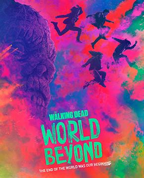 locandina ufficiale di the walking dead the world beyond - nerdface