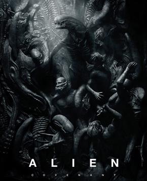 locandina ufficiale di alien covenant - nerdface
