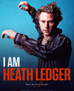 cover ufficiale dell'home video i am heat ledger - nerdface