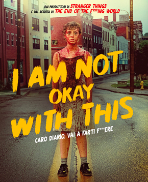 locandina ufficiale di i am not okay with this - nerdface