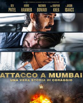 locandina ufficiale di attacco a mumbai - nerdface
