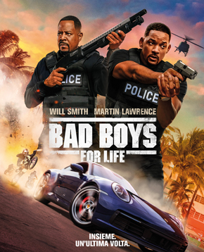 locandina ufficiale di bad boys for life - nerdface