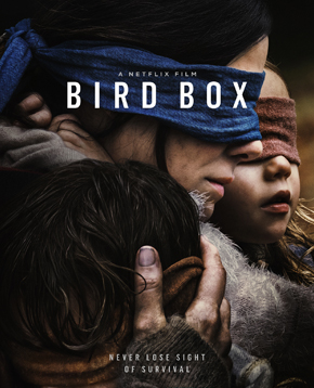 la lcoandina ufficiale di bird box - nerdface