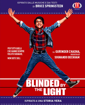 la locandina ufficiale di blinded by the light - nerdface