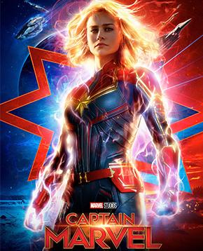 Poster del film Captain Marvel - nerdface