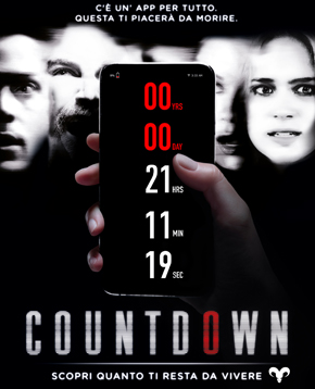 poster di countdown