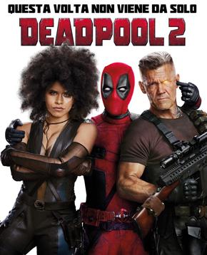 locandina ufficiale di Deadpool 2 - nerdface