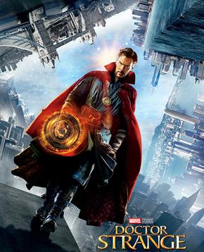 locandina ufficiale del film Doctor Strange - nerdface