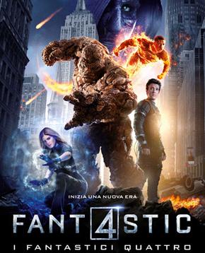 locandina ufficiale del film Fantastic Four del 2015 - nerdface