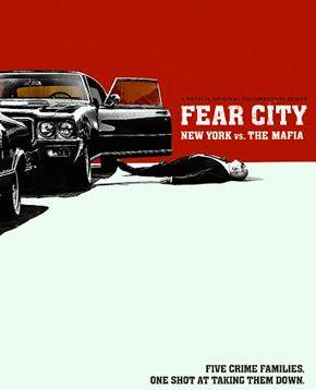 locandina ufficiale di fear city - nerdface