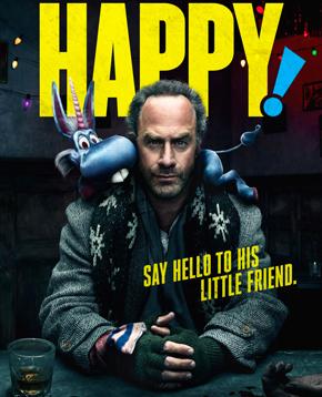 la locandina ufficiale di happy 2 - nerdface