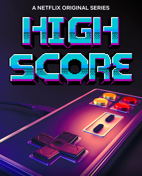 locandina ufficiale di high score - nerdface