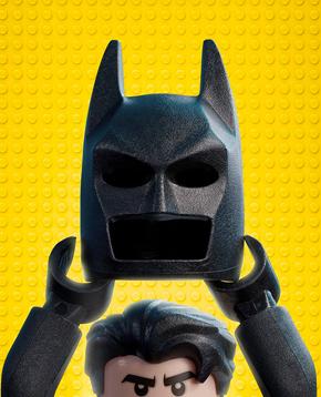 locandina del film Lego Batman - nerdface