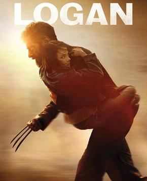 locandina ufficiale del film Logan - nerdface