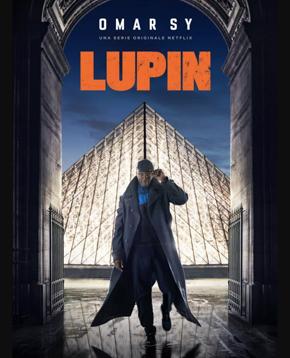 locandina ufficiale della sere tv lupin - nerdface