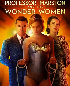 locandina ufficiale di Il Professor Marston e le Wonder Woman - nerdface