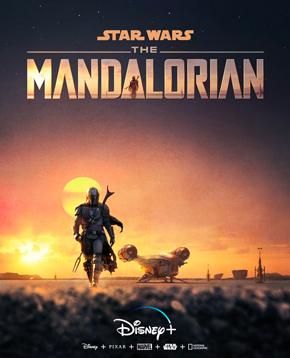 locandina ufficiale di the mandalorian - nerdface